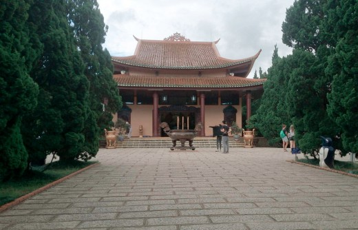 The main ceremonial hall