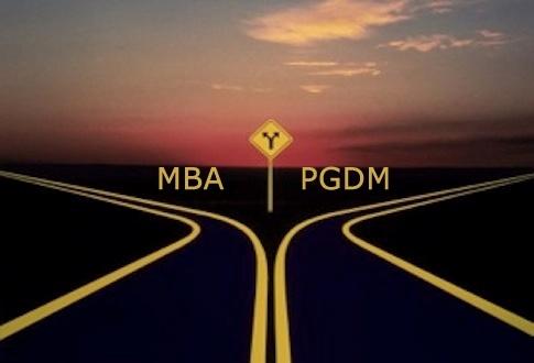 PGDM or MBA