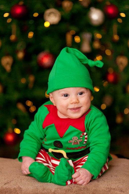 Baby elf for Santa.