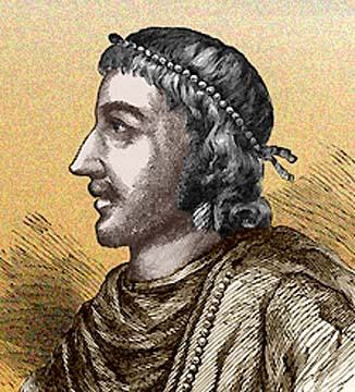 After campaigning in the Midlands and South, Knut came to an agreement to share the kingdom with Aethelred's son Eadmund. Unluckily for Eadmund he died of wounds in AD 1016. Knut ruled overall, an able statesman