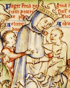 Daughter of Duke Richard 'the Fearless' of Normandy, Emma (or Ymme) had been queen to Aethelred II. Shortly after his accession to the throne of England Knut wedded her. They had one son...