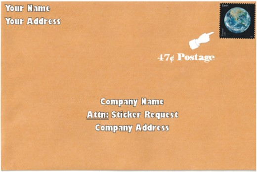 Letter To Company Example