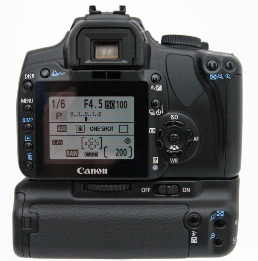 Battery grips are ideal especially when one is using a high performance DSLR