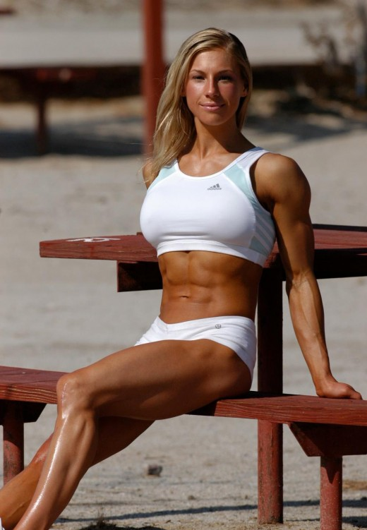Gail Sanez - Women's Tri-Fitness competitor