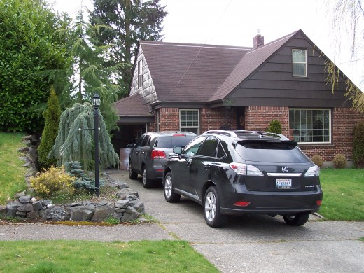 My childhood home in Tacoma