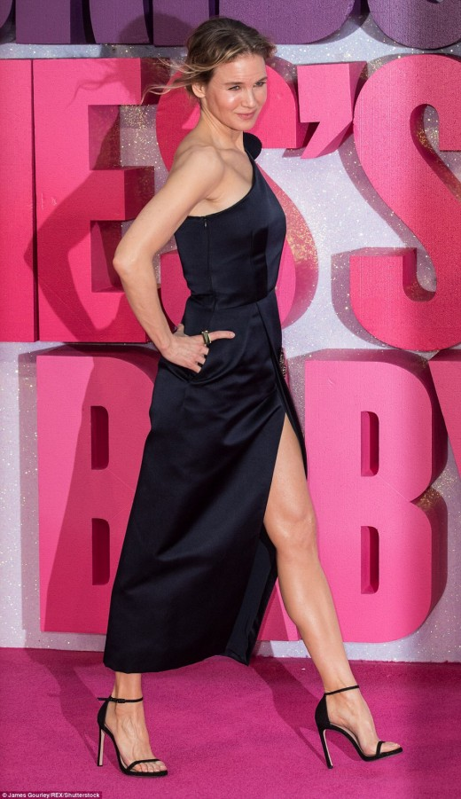 Renee Zellweger red carpet promotion for Bridget Jones's Baby