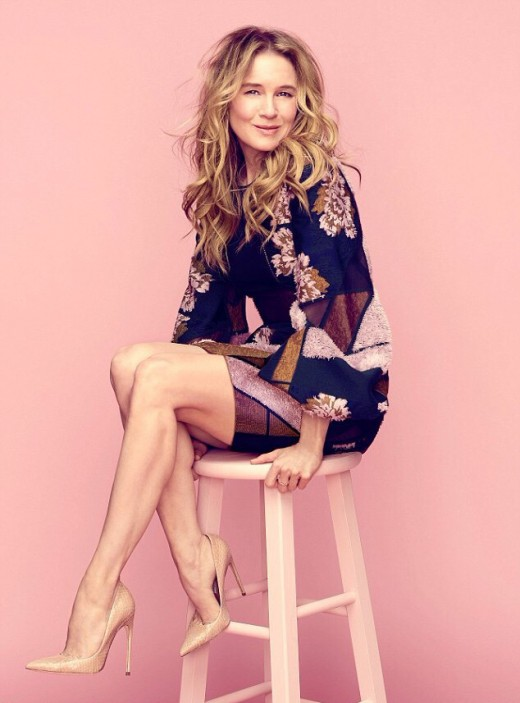 Renee Zellweger gorgeous for American Way American Airlines magazine