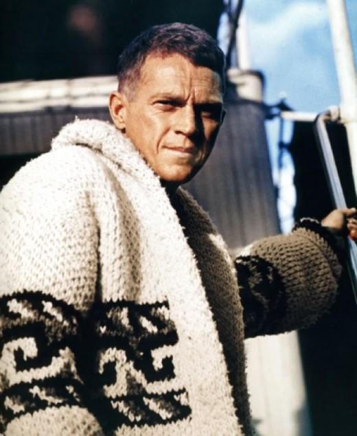 Original film featured Steve McQueen.