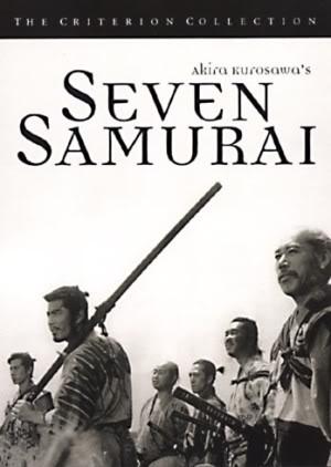 Still from the film 'Seven Samurai'.