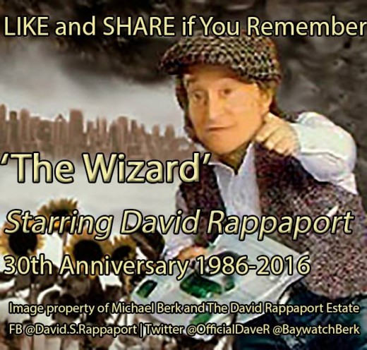 Thirty years ago today, 9/09/86, THE WIZARD premiered on CBS.