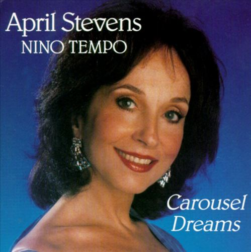 The lovely April Stevens had a very successful solo career