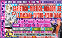 CMLL Super Viernes: It's Friday, Lucha Rules!