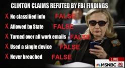 Hillary Clinton:Felon ?