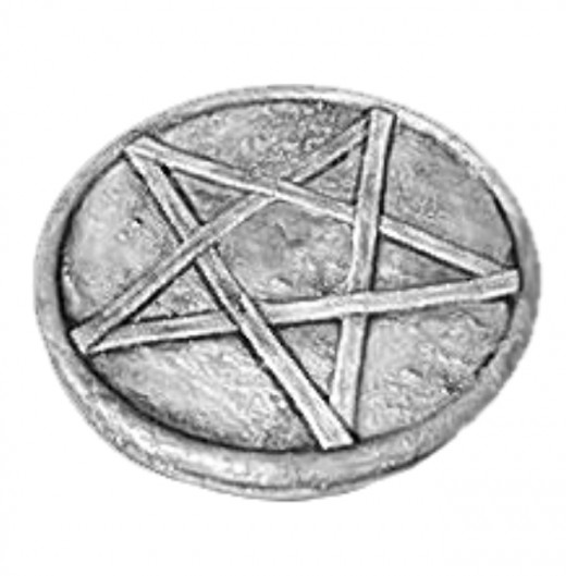 The pentagram is a symbol of the five classical Elements: Air, Earth, Fire, Water and Spirit. It has no connection to 'devil worship' in Wicca, no matter which way you turn it.
