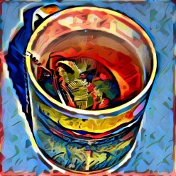 Poem: 5 Minutes of Tea Time