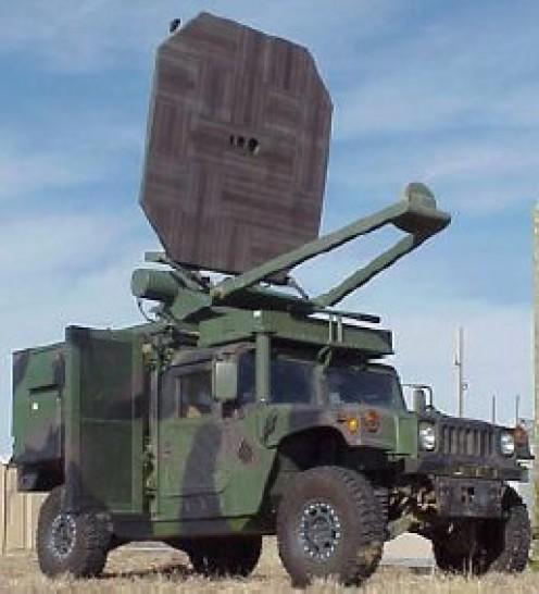 Heat gun, an active-denial weapon