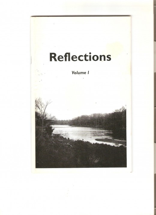 Cover of Reflections poetry collection