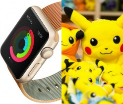 Pokemon Go on the Apple Watch Series 2