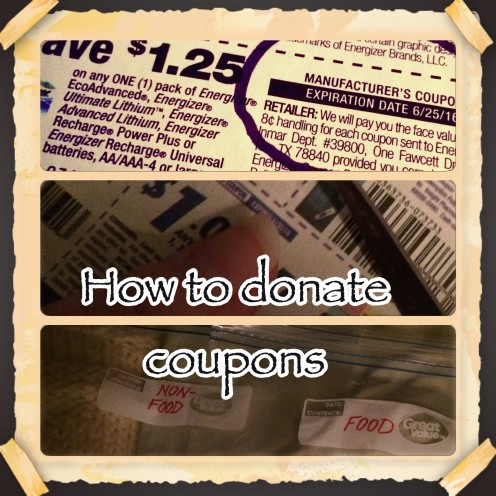 Learn the steps on how to donate your expired coupons to the military who are stationed overseas!