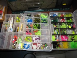 A nice assortment of baits.