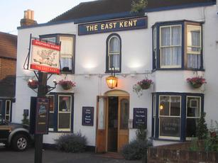 The East Kent, Whitstable, Max's old pub. For many years it still bore the mark of his personality