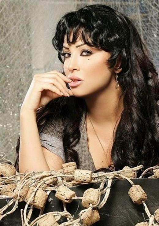 Lebanese music artist Marwa