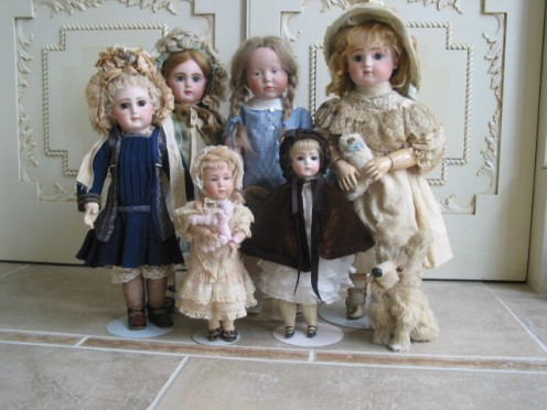 Wonderful Antique Dolls
