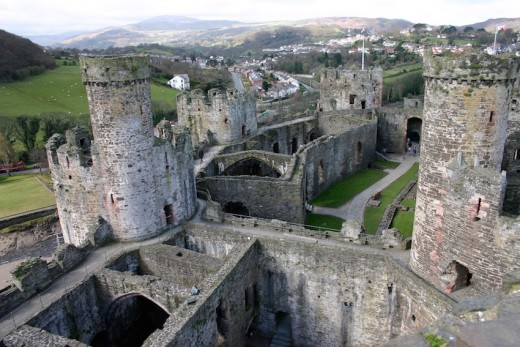 Edward I's great fortress - Conwy Castle, Wales