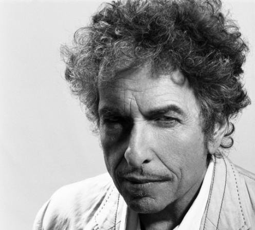 Folk music legend, Bob Dylan