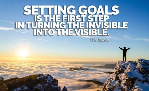 Actions should be based on the goals which they will help accomplish.