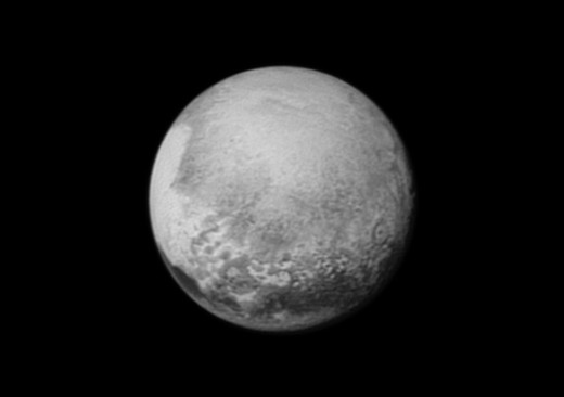 This is one of the most recent images of Pluto - taken by NASA's New Horizons spacecraft in 2015.