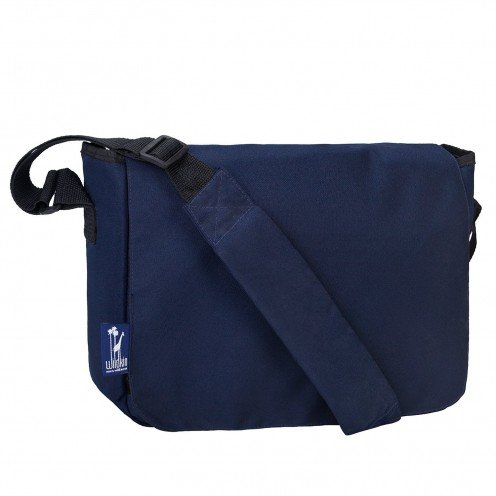 Wildkin Kickstart Messenger Bag, Whale Blue