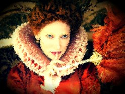 I thought a depiction of Queen Elizabeth I would be appropriate.