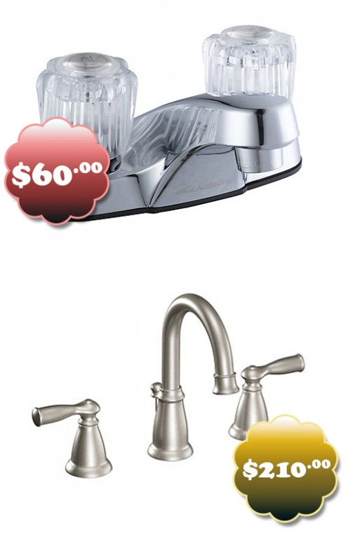Save $150 by choosing a less fancy faucet.
