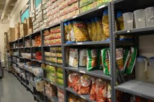 The commissary has food and other items that inmates purchase with money put on their books by relatives or friends.
