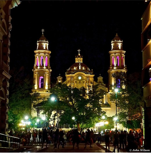 Nightlife in Hermosillo, Mexico