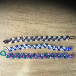 Bracelets Created from the Bead & Button Magazine
