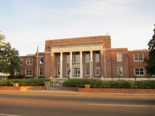 The Neshoba County Courthouse in Philadelphia, where Edgar Ray Killen's 2007 trial took place.