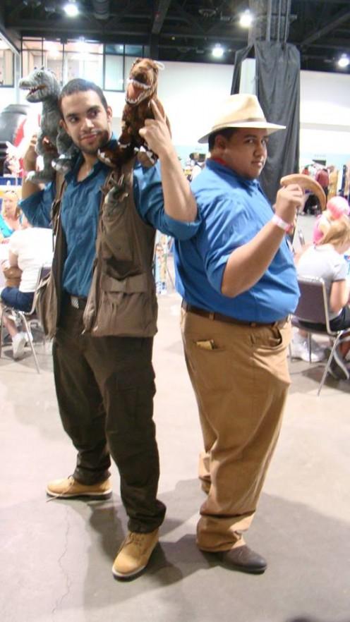 Raul Montero as Owen from Jurassic World.