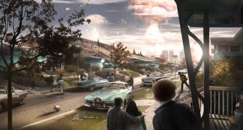 Fallout 4 concept art.