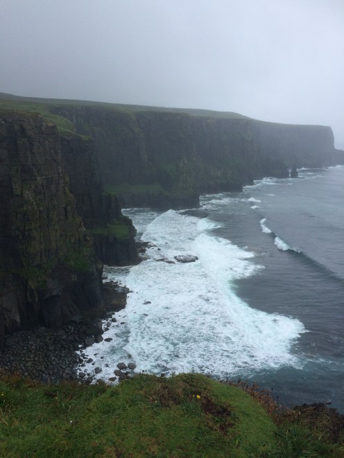 Stunning view of the Cliffs of Moher.