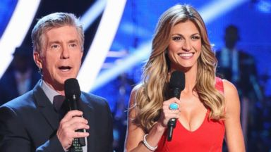 Dancing with the Stars Hosts: Tom Berguron, Erin Andrews