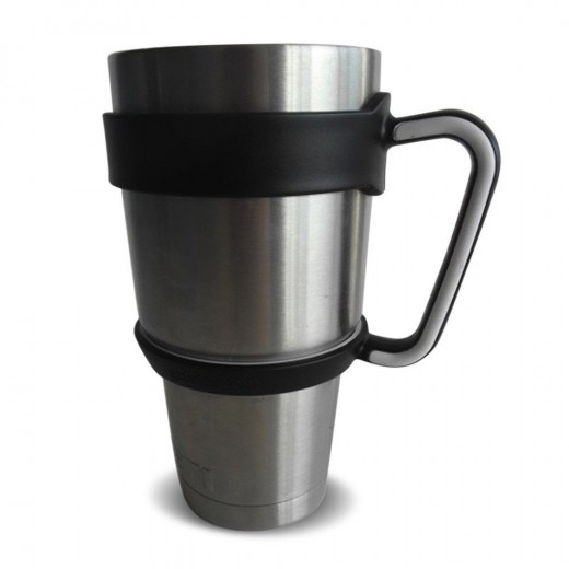 Off brand handle designed for the 30 oz Yeti tumbler.