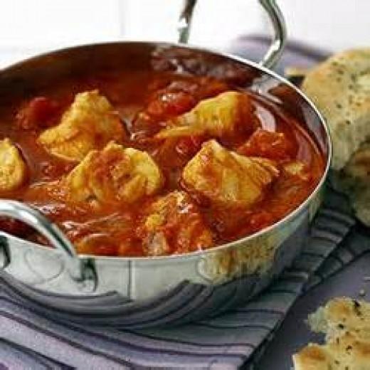 Caribbean Fish Curry