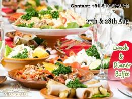 feast at Vijan Mahal