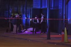 Chicago Police Dept. investigates a homicide
