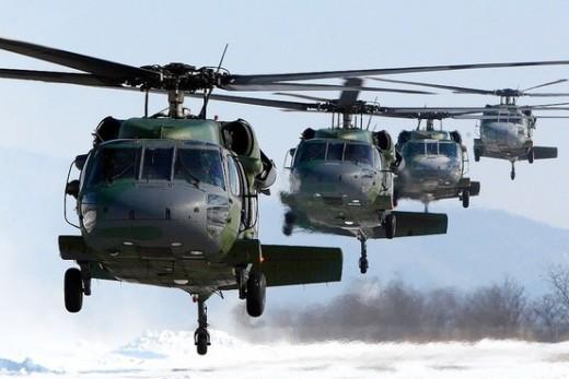The UH-60 Blackhawk