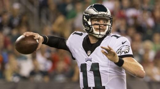 Philadelphia Eagles rookie QB Carson Wentz