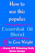 How to Use DoTERRA Slim And Sassy Essential Oil Blend to Lose Weight