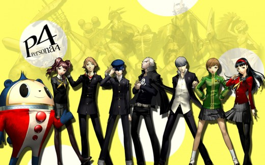 Main characters of Persona 4.